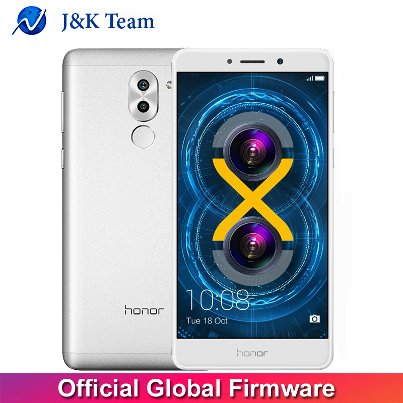 Global Firmware Huawei Honor 6X OTA Update Dual Rear Camera 12MP 4G FDD LTE Smartphone
