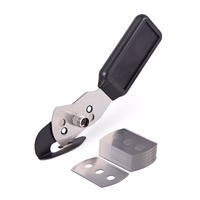 EHDIS Vinyl Film Car Stickers Cutting Tool Cutter Knife+12pcs Stainless Blades Slitter WallPaper Art Knife Car Film Wrap Tools