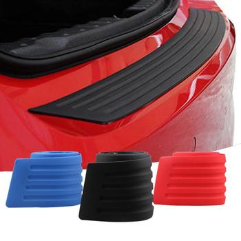 New Rubber Car Bumper Car Guard Scratch Protection Strip Rear Guard Bumper Protector Car Sticker Protector dropshipping image