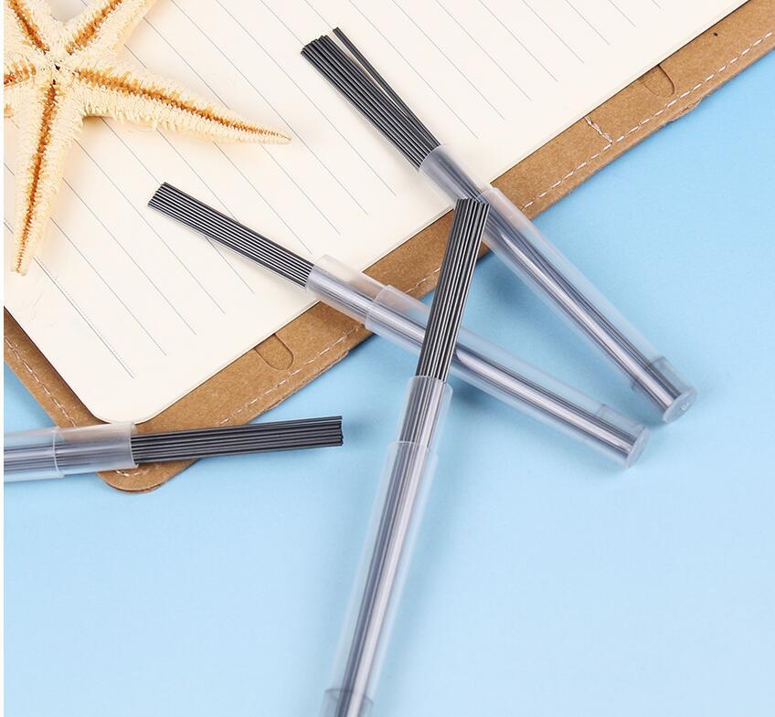 Buy 6 Tubes Automatically Pencil Refills 2B 0.5mm 0.7mm Lead Writing Lubrication Mechanical Pencil Lead School Stationery