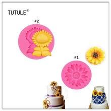 Гаджеты форма для подсолнухов Гибкая силиконовая поделок/десертов/мини