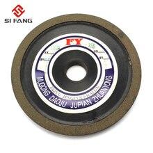 4 100mm Tapered  Bakelite Diamond Grinding Wheel to Grind Carbide Hard Steel 16/20MM Bore 150 Grit 75%