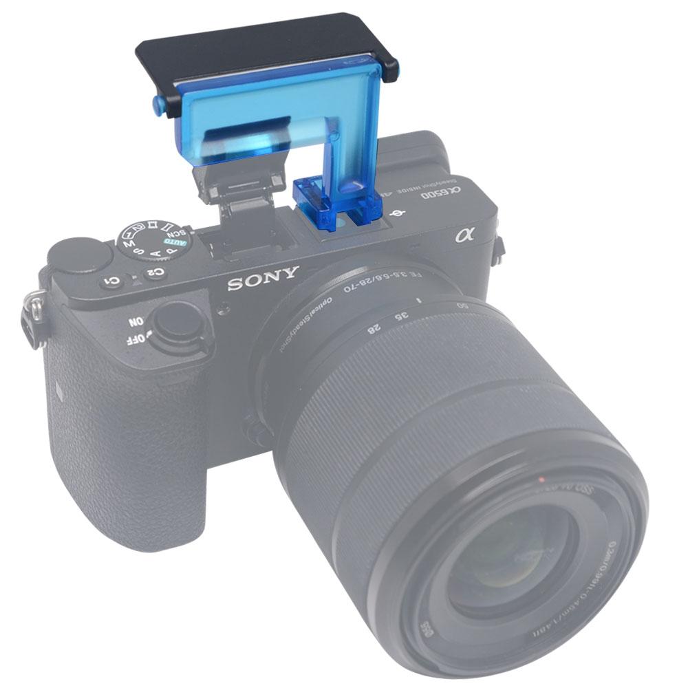 Mcoplus 4 түсті диффузоры Flash Bounce Cards Sony A6500 - Камера және фотосурет - фото 4