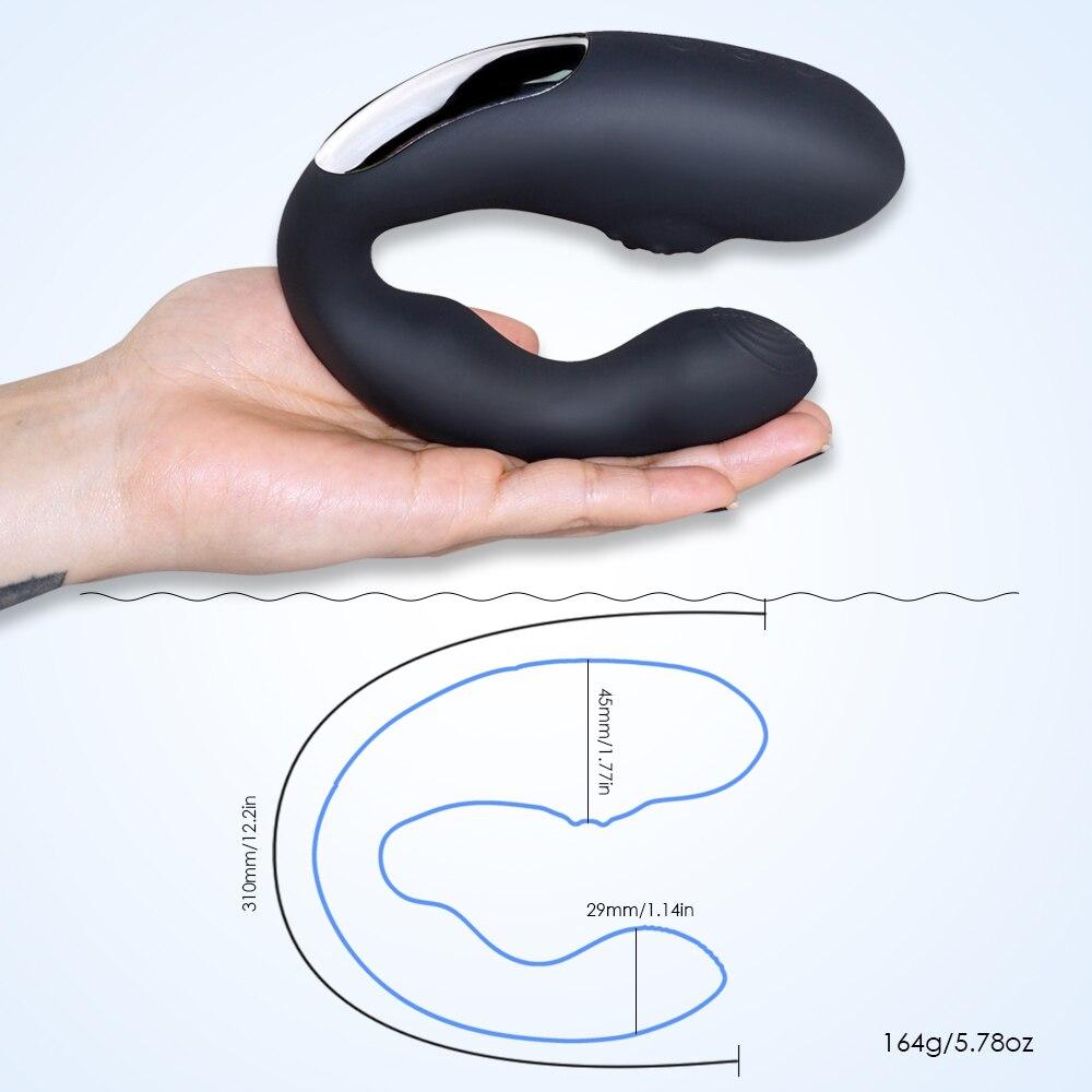 Masturbation Sex Toys for Men Anal Butt Plugs Vibe 36 Speeds Prostate Vibrator Anal Vibration Stimulation Male Masturbation in Vibrators from Beauty Health