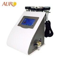 Аппарат для похудения AURO 5-в-1, вакуумный аппарат для сжигания жира ультразвуковой радиочастотный, новая технология, салонное оборудование, ...