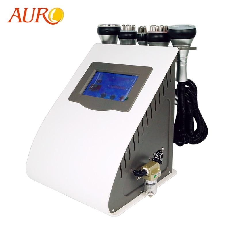 AURO 2019 New Technology 5 In 1 Vacuum Lipo Ultrasonic Cavitation RF Slimming Machine Best Sellers Products Salon Equipment