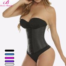 Lover beauty 9 Steel Bones Corset Waist Trainer Shapers Slimming Underwear Waist  Corset Black Size XXS ~6X Womens Shape Wear