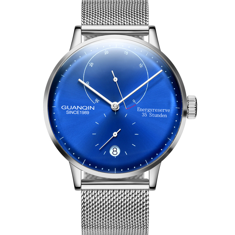 HTB1rFZkcER1BeNjy0Fmq6z0wVXai GUANQIN Mechanical Business Watch Men Top Brand Luxury Luminous 316L stainless steel Wrist Mens Automatic Watches Gold Clock