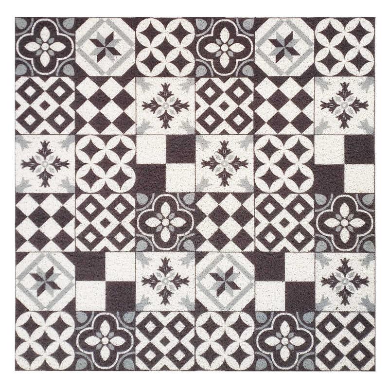 Ins prostokątne drzwi mata pcv jedwabne loop wodoodporna mata do drzwi wejściowych wykonane na zamówienie dywan kuchnia łazienka antypoślizgowe dywan floormat