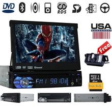 1Din font b Car b font Cassette recorder Audioradio DVD Player GPS Navigation font b car