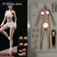 14.8cm TBLeague 1/12 Sexy Super Flexible Full Set Female Seamless Body Head Sculpt Doll Model Pale/Suntan Colors for Fans Gifts