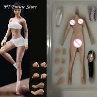 14.8cm TBLeague 1/12 Sexy Super-Flexible Full Set Female Seamless Body Head Sculpt Doll Model Pale/Suntan Colors for Fans Gifts
