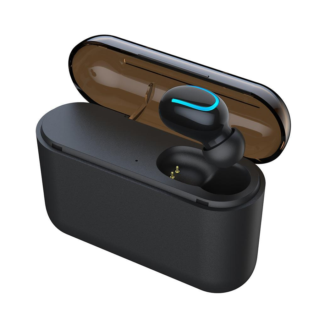 Mini TWS Portable Wireless Earphone Bluetooth Hifi Stereo In-Ear Mini Wireless Earphone Waterproof with Charging Box Bluetooth 5(China)