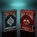 1 Deck Red Essence Lux Deck Bicycle Playing Cards Poker Size USPCC Collectable Air Cushion Magic Tricks