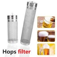Paslanmaz çelik ev yapımı 300 mikron bira bira Hop örgü filtre süzgeç kanca ile bira bira Hop örümcek örgü filtre süzgeç