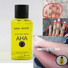 Быстро отбеливающая Сыворотка для тела, осветляющая кожу, AHA, витамин C, B 30 мл