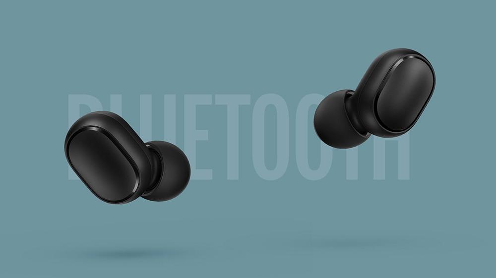 New xiaomi redmi airdots wireless headphones TWS bluetooth earphone Stereo bass BT 5.0 with Mic Handsfree Earbuds AI Control (2)