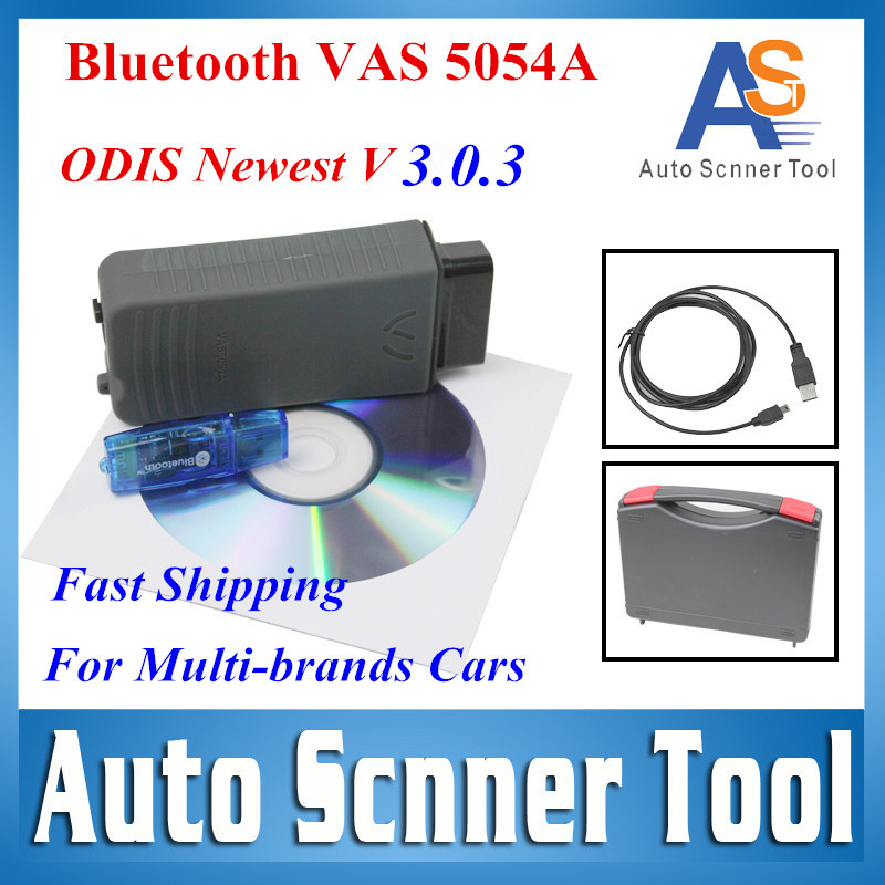 2017 NEWEST VAS 5054A VAS5054A ODIS 3.0.3 Bluetooth Support UDS Protocol VAS 5054A with Plastic Carry Case and Multi-language vas 5054a with oki chip vas5054a odis 3 0 3 bluetooth support uds protocol vas 5054a with plastic carry case diagnostic tool