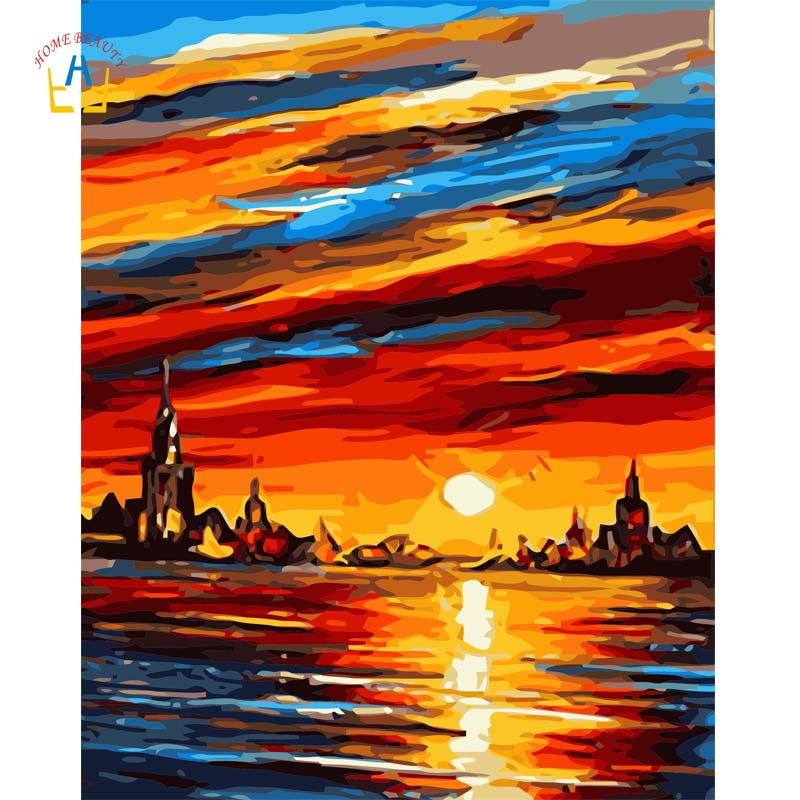 Buy modern canvas oil painting abstract - Landscape paintings for living room ...