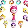 Baby Dynamic Music Rhythm Sticks Toys Hand Bells Sand Hammer Sand Ball 3 9 Months 0