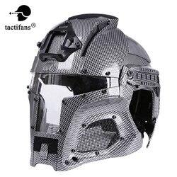 TACTIFANS2018 тактические военные Баллистические боковые рельсы для крепления шлема NVG кожух передачи База Спорт на открытом воздухе армейский Б...