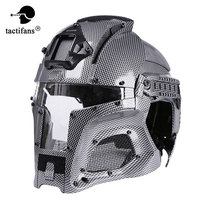 TACTIFANS2018 Tactical Military Ballistic Helm Side Schiene NVG Shroud Transfer Basis Outdoor Sport Armee Kampf Airsoft Paintball