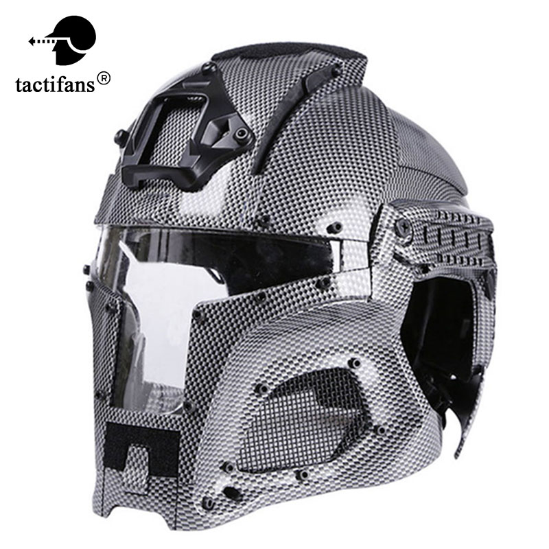 TACTIFANS2018 Tactical Military Ballistic Helmet Side Rail NVG Shroud Transfer Base Outdoor Sports Army Combat Airsoft Paintball