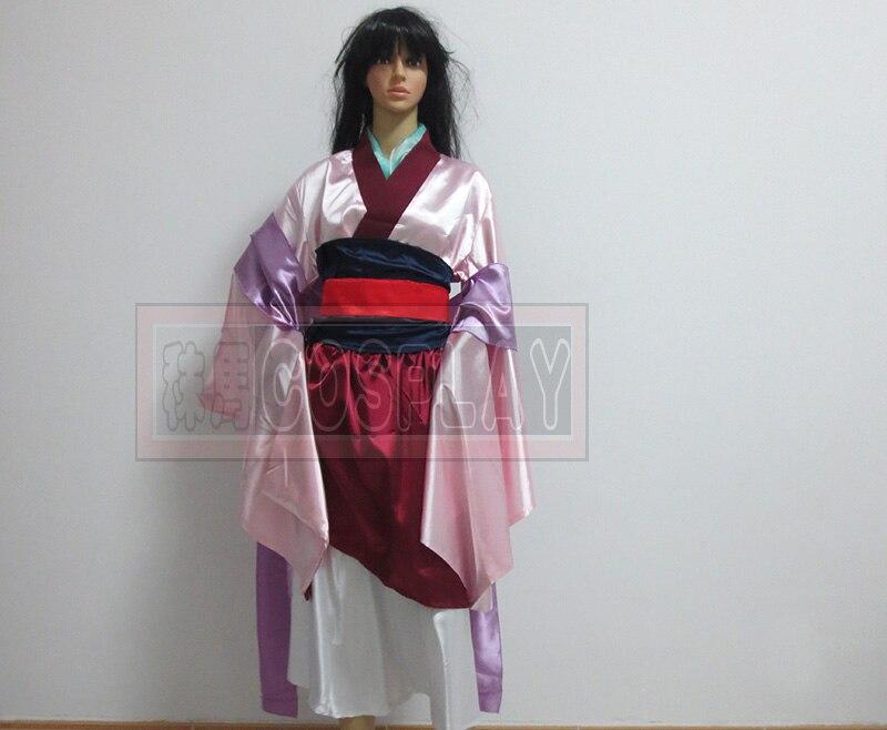 Hua Mulan Dress Blue Dress Princess Dress Movie Cosplay Costume Any Size