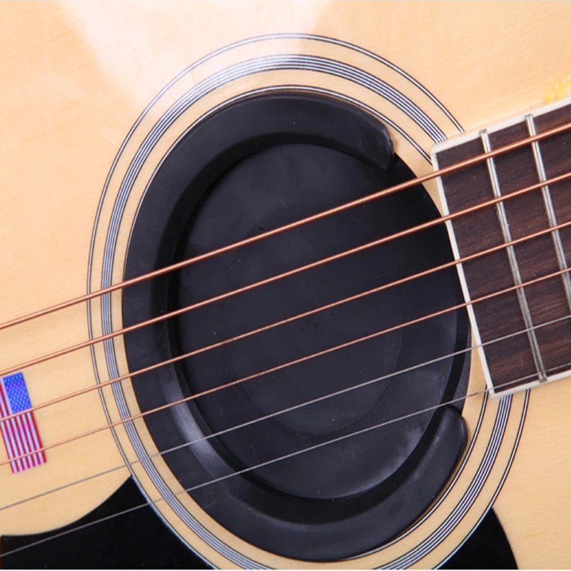 """Rubber Sound Hole Cover for 41/""""//42/"""" Acoustic Guitars"""