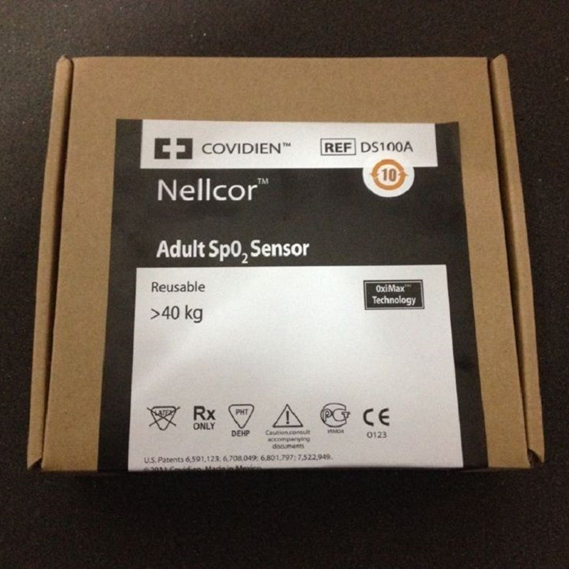 High Imitation NELLCOR OxiMax DS-100A Durasensor Adult Oxygen Sensor, Adult Finger Clip SpO2 Sensor