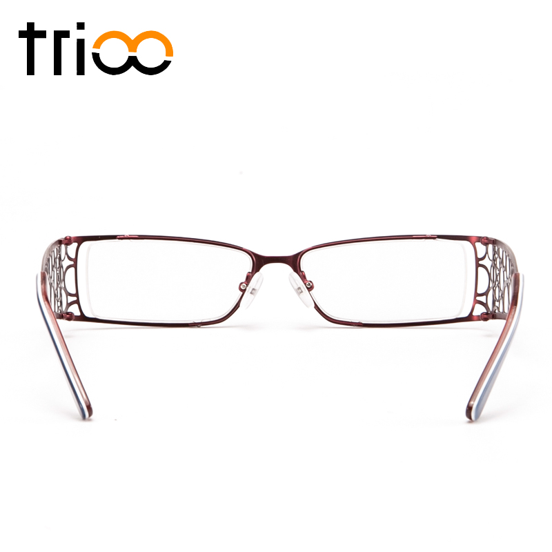 Kurzsichtig Chic Gläser T001 Einzigartige t002 Verschreibung Brille Optische Brillen Trioo t004 Klar Weiblichen Tempel Absolvent Myopie Breite t003 Quadrat YFdq0wS