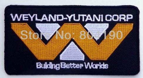 ALIEN ALIENS Weyland Yutani Better Worlds Movie Embroidered LOGO Iron On Patch Goth Punk Rockabilly Custom