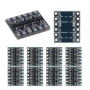 Image 5 - 10 stücke 3 5V 4 Kanal Logic Level Converter Bi Directional Shifter Modul Für IIC