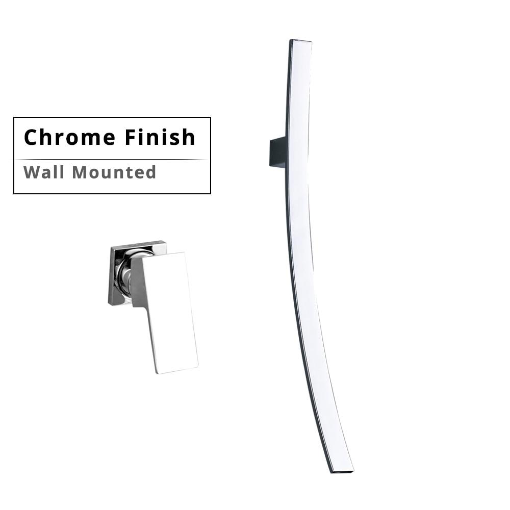 Wall Mounted Chrome