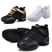 Танцевальная обувь, спортивные особенности, современные танцевальные джазовые туфли, мягкая подошва, дышащая танцевальная обувь, кроссовки для женщин, тренировочная обувь