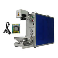 20W Fiber Laser Marking Machine 30W Hardware Ultraviolet Coding Machine mobile back cover frame separator 2 in 1
