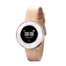 X6 Women Fashion Smart watch IP68 Waterproof Heart Rate Blood Pressure Oxygen Alarm Clock Monitor for xiaomi Wristband PK X3 X2