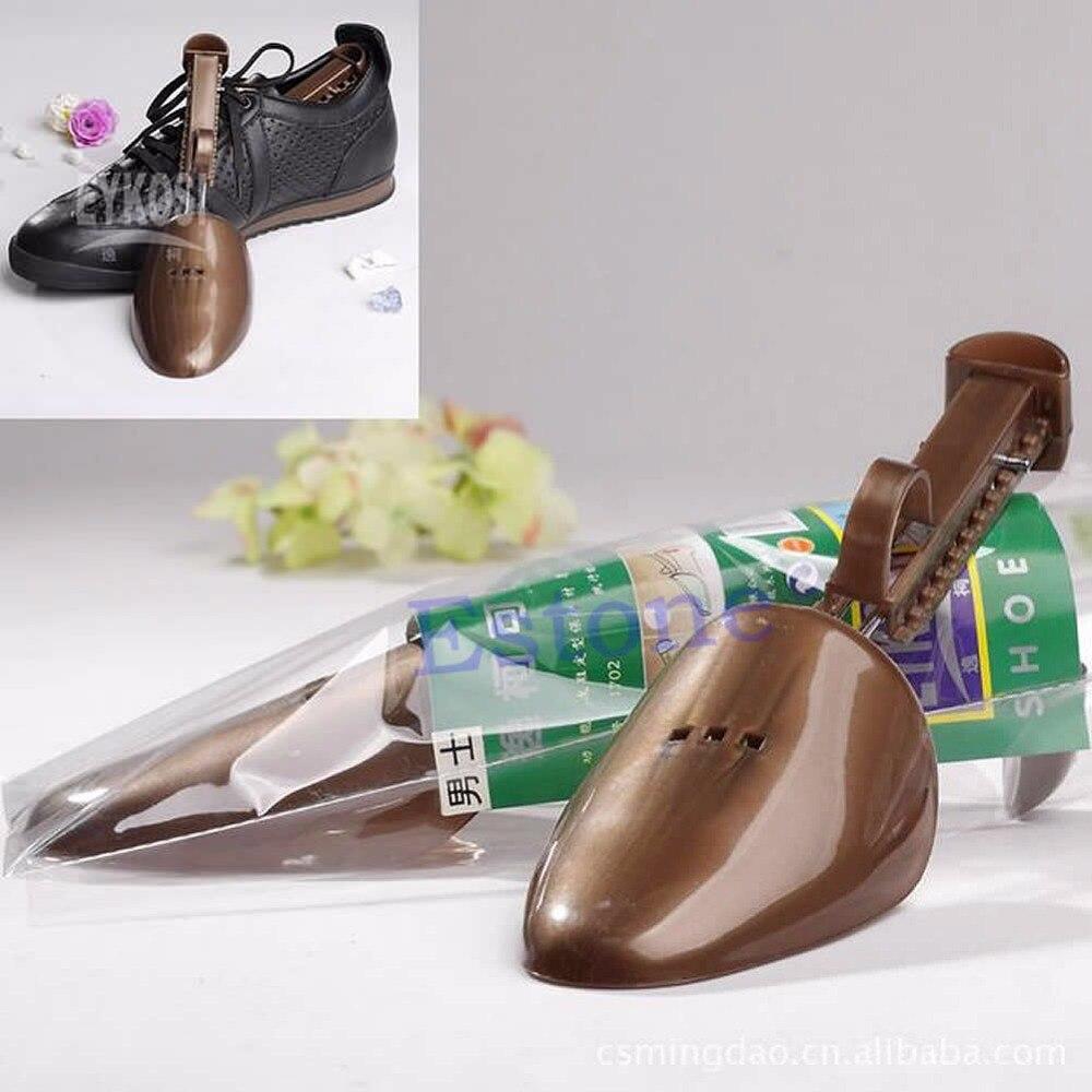 THINKTHENDO Hot Men Shoes Tree Keepers Support Stretcher Plastic Adjustable Shoe Shapers пояс для похудения hot shapers neotex размер xl