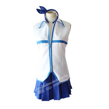 Athemis fairy tail lucy cosplay disfraces juego de correas de anime cosplay minifalda plisada dress por encargo tamaño