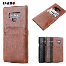 Luxury Leather Phone Case For Samsung Galaxy S10 S10E S9 S8 Plus Note9 Note 8 Wallet Card Slot Holder Cover