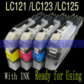 LC123 LC 123 ink For Brother LC123 LC 123 J4410DW J4510DW J4610DW J4710DW DCP-J4110DW MFC-J4510DW MFC-J650DW Ink Printer E204