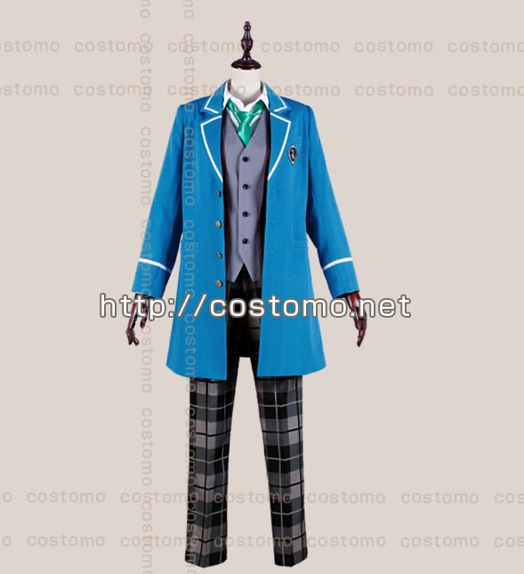 Free shipping  Ensemble Stars Hibiki Wataru School Uniform Cosplay Costume