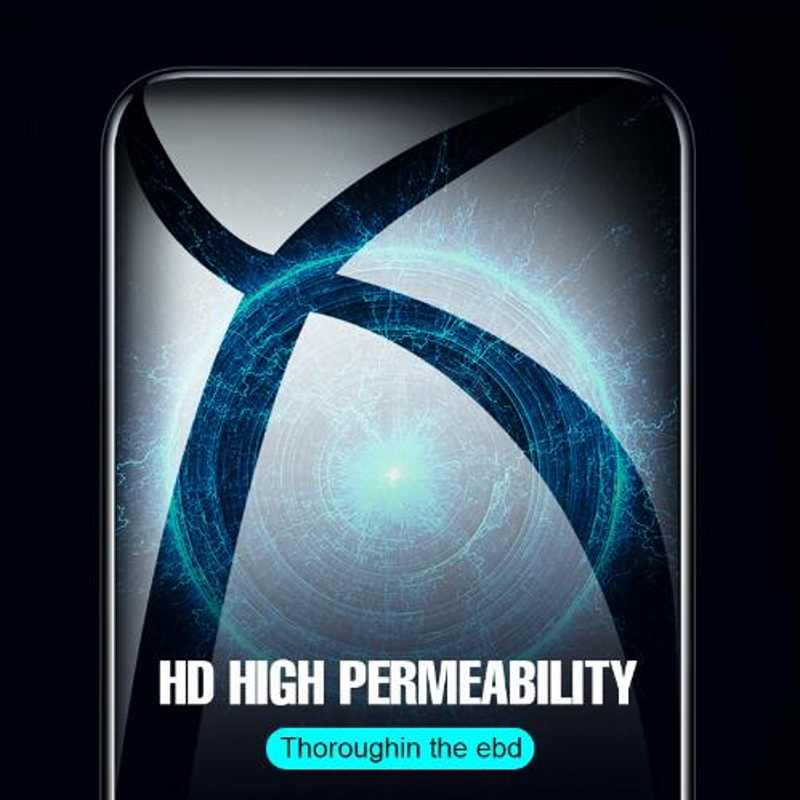 Szkło hartowane dla IPhone XR XS MAX szkło folia ochronna 5D pełna dla IPhone XR X 11 Pro Max zakrzywione szkło ochronne