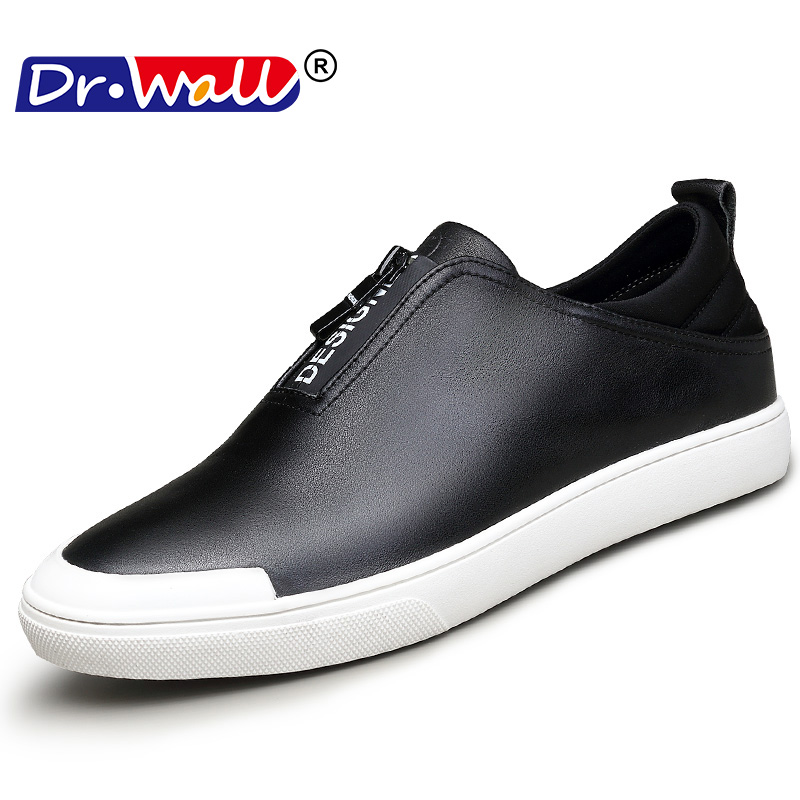 Genuine Leather Shoes Men Brand Footwear Non-slip Thick Sole Fashion - Men's Shoes - Photo 2