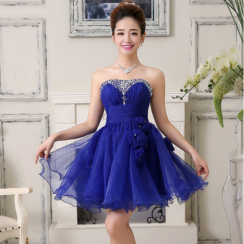 Compare Prices on Short Royal Blue Dresses- Online Shopping/Buy ...