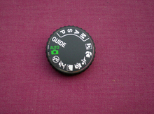 SLR digital camera repair and replacement parts D3000 top cover mode dial for Nikon