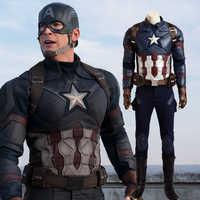 Kapitän Amerika Bürgerkrieg marvels The Avengers Cosplay Kostüm Erwachsene Kostüm Männer Volle Set Halloween Karneval Kostüm Für Männer