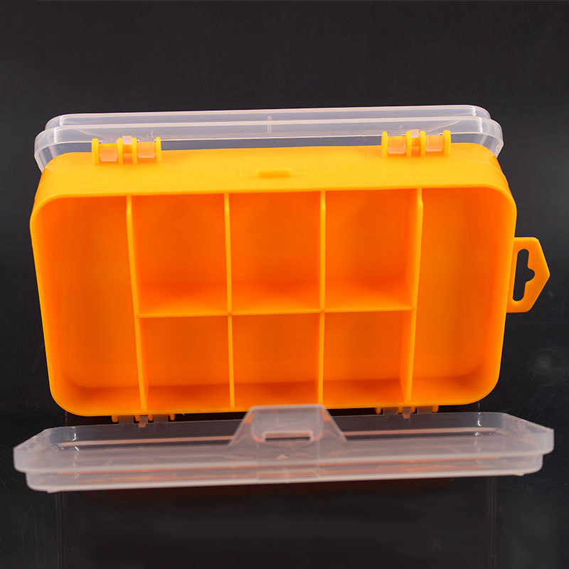 Household Double-sided Tool Box Plastic Toolbox For Electronic Components Anti-static High Temperature Resistance Screw Storage