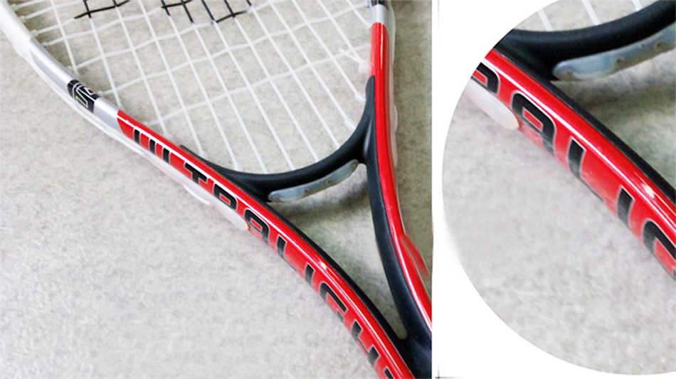 Karakal Carbon Aluminum Alloy Squash Racket Kid Blue Red Squash Racquet With Racket Bag Sports Equipment Squash Racquet Children