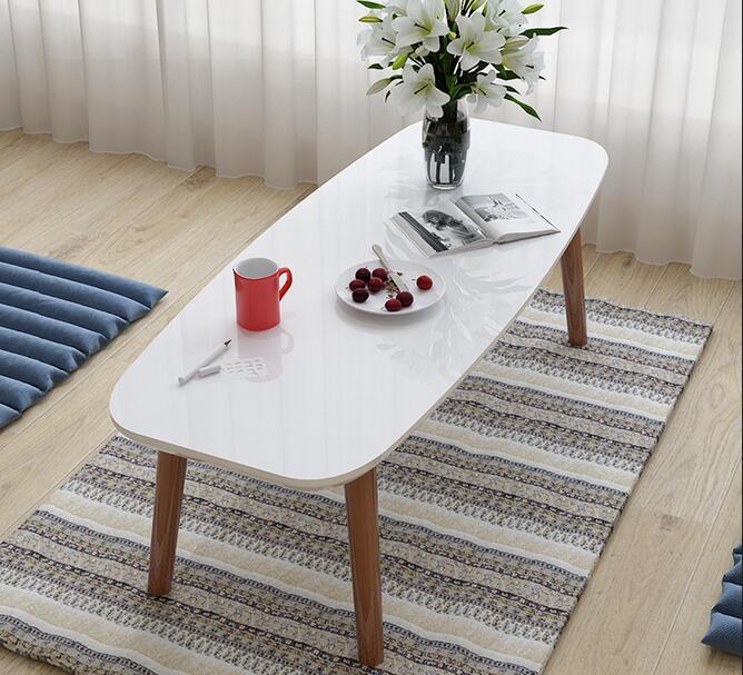80*40*32CM Modern Coffee Table Sofa Side Tea Table Living Room Corner Table odd ranks yield retro furniture living room coffee table corner a few color seattle bedroom nightstand h